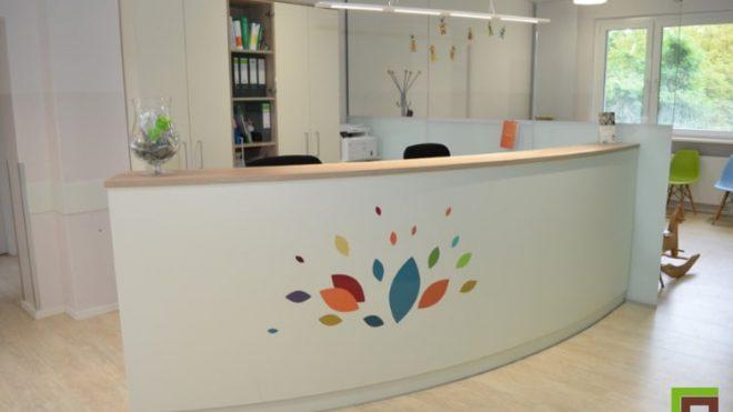 Einrichtung Kinderarztpraxis