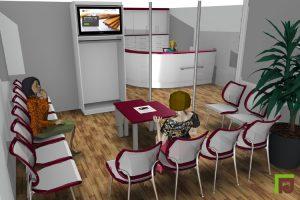 Praxiseinrichtung 3D Planung