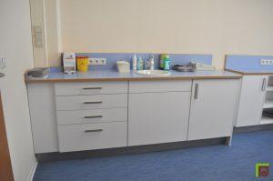 Laborzeile Arztpraxis