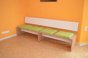 Sitzbank gepolstert-al02