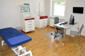 Behandlungsraum Arztpraxis