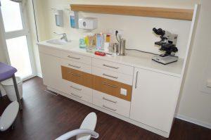 Behandlungszeile Gynäkologische Praxis