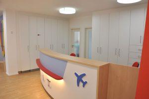 Anmeldebereich Kinderarztpraxis