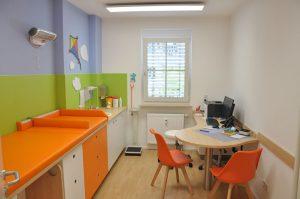 Einrichtung Kinderarzt