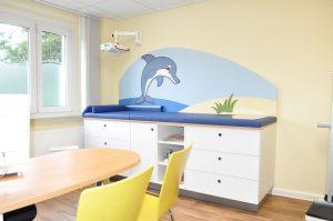Behandlungszeile Kinderarzt
