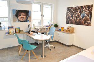Sprechzimmer Kinderarzt