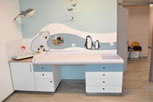 Kinderarzt Behandlungsmoebel