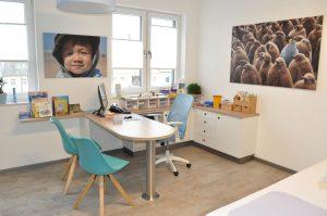 Sprechzimmer Kinderarztpraxis