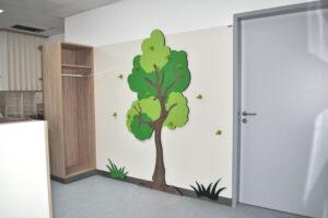 Kindergarderobe Baum