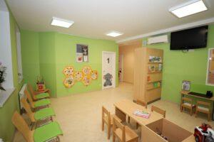 Wartezimmer Kinderarztpraxis